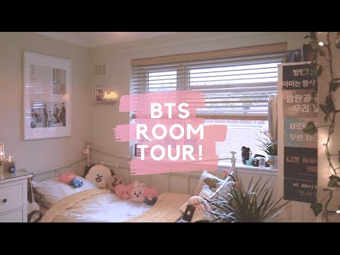 ✨🌿bts-room-tour!-(soft-aesthetic-&-kpop-shelf!)-🌿✨