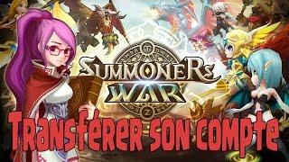 Transfert de compte Summoners War - TUTO