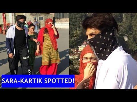 Sara Ali Khan, Kartik Aaryan cover their faces while roaming in Shimla Mp3