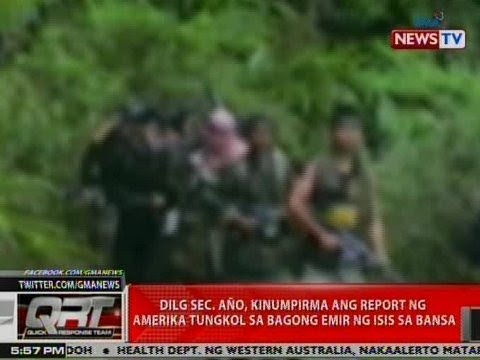 Año confirms new ISIS 'emir' in the Philippines