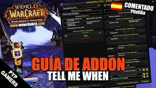 Guía del addon TellMeWhen | WoW World of Warcraft