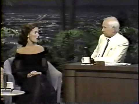 Lara Flynn Boyle On Johnny Carson The Tonight