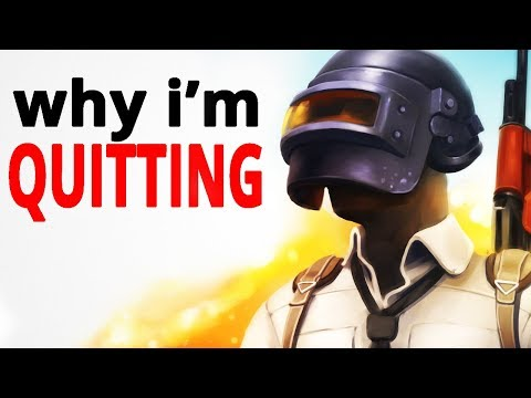 Why I'm Quitting PUBG After 1,000 Hours (Strong Language)