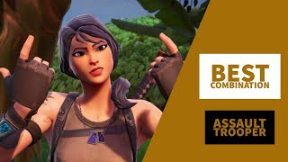 Best Combos | Assault Trooper | Fortnite Skin Review