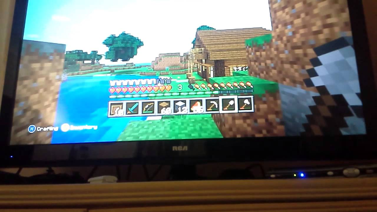 minecraft xbox 360 how to share worlds