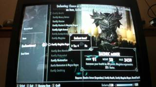 The Elder Scrolls V: Skyrim - How to make GODLY weapons PART 2. read description