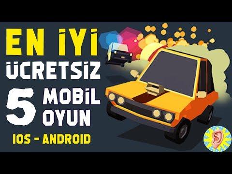 En İyi ÜCRETSİZ 5 MOBİL OYUN - Android İOS Uyumlu