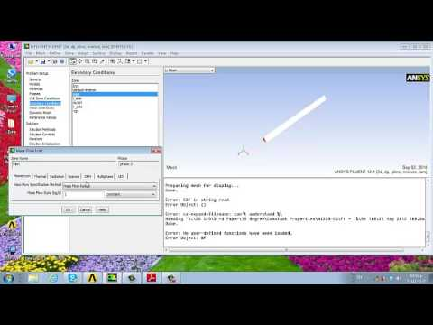 Mass Transfer Udf Ansys Fluent Youtube