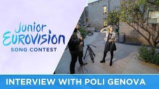 Meet Poli Genova at Junior Eurovision 2016