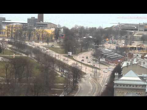 My beautiful Tallinn view from Sokos Hotel Viru, Tallinn, Estonia 2015
