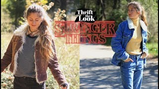 Unisex Stranger Things Outfits | Thrift The Look Ep.7