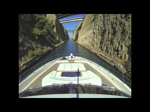 Corinth Canal Time Lapse
