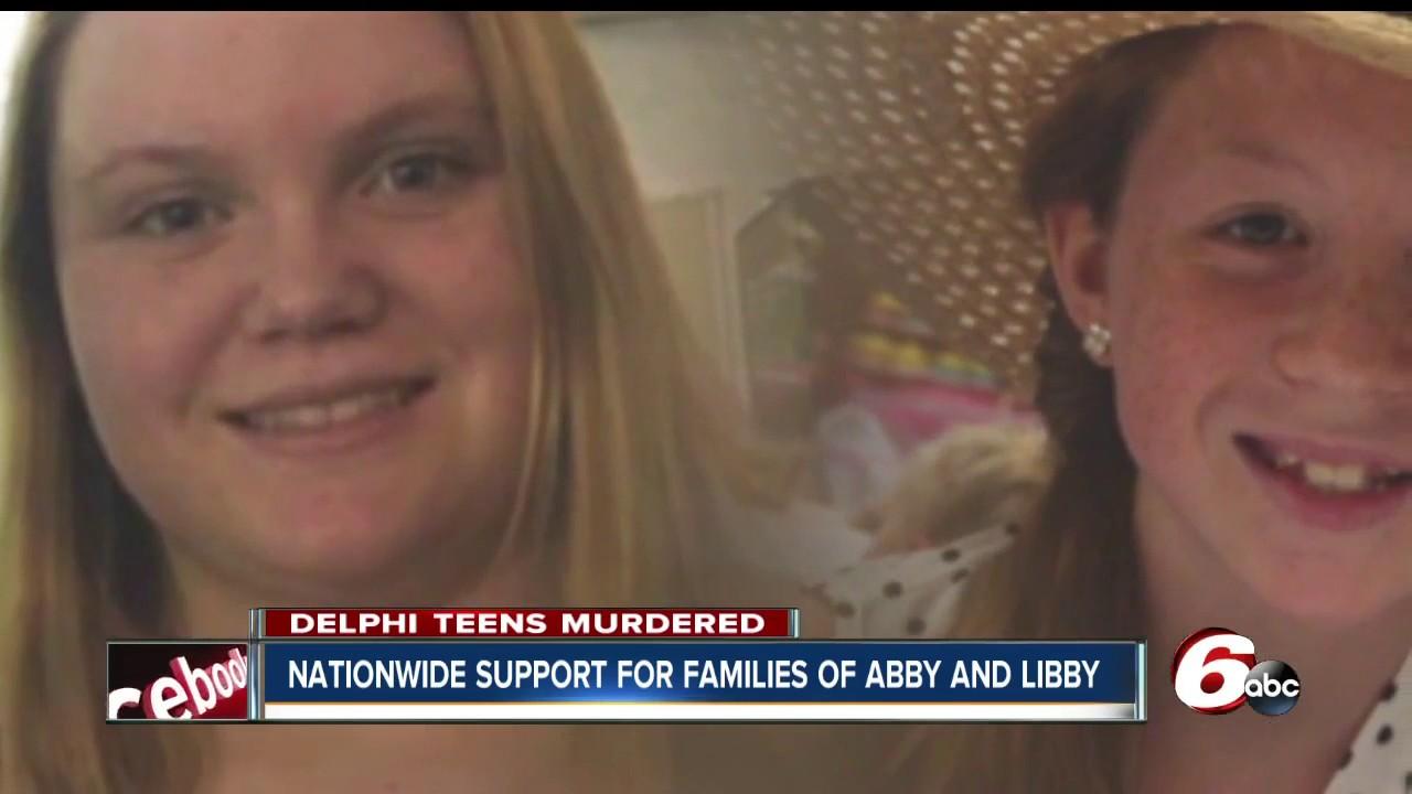 Light Up Delphi' in memory of murdered girls