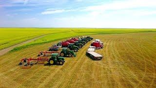 Hubka Farms LTD - 2016 Hay and Grain Harvest
