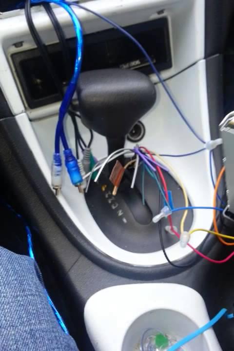 2004 Ford Radio Diagram 99 00 Mustang Mach 460 Radio Install Youtube