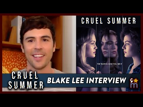 CRUEL SUMMER's Blake Lee Talks Theories & Working With Olivia Holt | Exclusive Interview