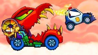 Машина ест машину 3 Хищные машины Car Eats Car #35 битва с машинками как в Drive Ahead #МАШИНКИКИДА