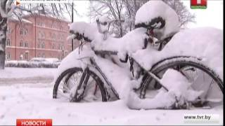 Швецію засипало снігом