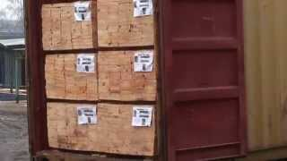 Пиломатериалы строительные сосновые с антисептиком - экспорт из Украины в Турцию в контейнерах(, 2015-01-21T10:23:55.000Z)