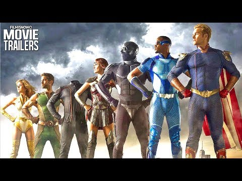 THE BOYS Trailer (TV Series 2019) - Karl Urban Superhero Series