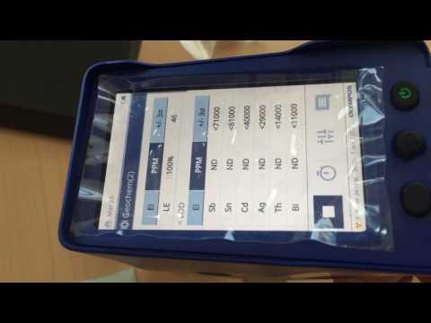 Спектрометр Olympus Vanta анализ геохимии