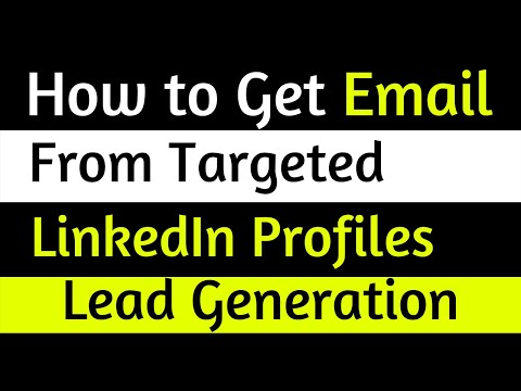 Lead Generation Bangla Tutorial- Find CEO, Founder, Co-Founders Email Address from LinkedIn Profile