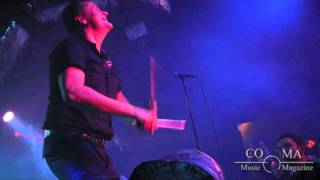 "Die Krupps - ""Germaniac"" (live) - COMA Music Magazine"