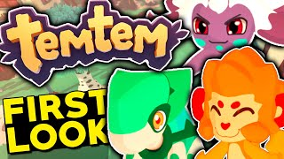 WILL THIS GAME BE BETTER THAN POKEMON? Temtem Part 1 - First Look & Starters!