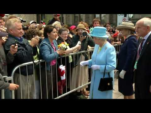 Queen Elizabeth II visits Canada, Royal Tour 2010 - Day 3