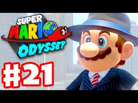 Super Mario Odyssey - Gameplay Walkthrough Part 21 - Return to Metro Kingdom Nintendo Switch