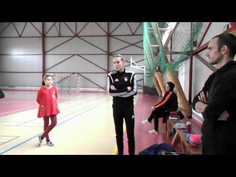 Laura Rus în vizită la Golden Kids Bocșa