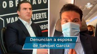 De la Garza y Samuel García son candidatos a la gubernatura de Nuevo León, uno por el PRI y el segundo por Movimiento Ciudadano