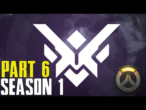 EPIC WIN WITH DROPOUTS Overwatch Season One Competitive Rank Gameplay - Part 6 (PS4 XBOX PC HD)