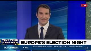 Elecciones europeas 2019, cobertura especial en directo del domingo 26 de mayo (replay)