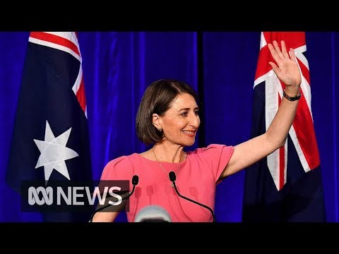 NSW election: Gladys Berejiklian becomes state's first elected female Premier | ABC News