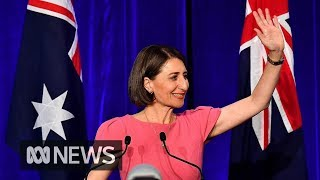 An overjoyed Gladys Berejiklian says her re-elected government will...