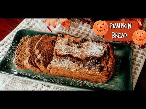 The BEST Healthy Pumpkin Bread Recipe (GF, V)