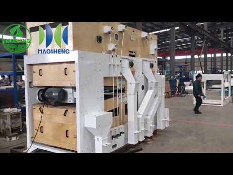 5X Air Screen Seed Cleaning Machine 201703 - Hyde Machinery www.kfhdjx.com