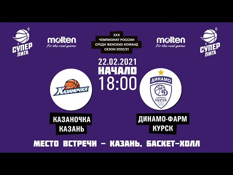 22.02.2021 18:00 Казаночка - Динамо-Фарм