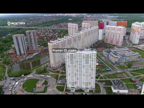 ЖК«Левобережный»— аэросъемка МСКГуру. Июнь 2017.