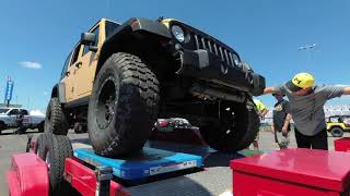 Jeep Beach 2018  Rock Krawler V.S The Popsicle Course