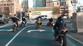 CIAA 2015 #BikesUpGunsDown Invasion