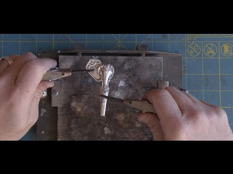 The Making of Silver Spoon Jewelry: SPOON ELEPHANT NECKLACE