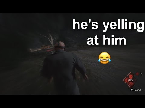 """GO BOY GO! DRIVE! DRIVE! DRIVE!"" Friday the 13th Jason gameplay funny moment + aftermath (winning)"