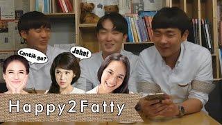 KOREAN GUYS REACT TO INDONESIAN ACTRESSES (Dian Sastro, Pevita, Chelsea Islan) Part 1