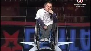 lithuania s got talent vytautas matuzas sings 2pac s dear mama