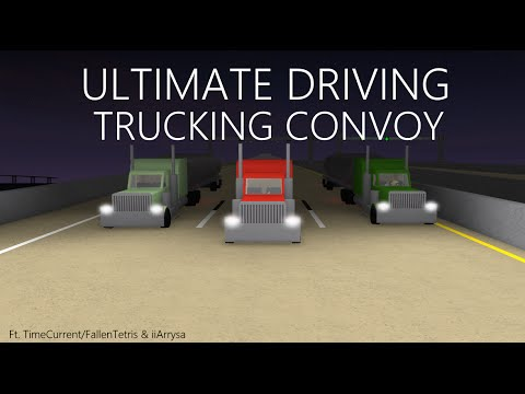 Trucking Convoy Roblox Ultimate Driving Youtube