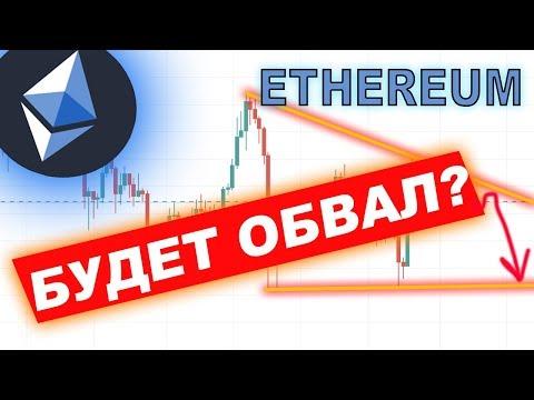 Криптовалюта Эфириум ОБВАЛ?!(Ethereum) ПРОГНОЗ 2019!