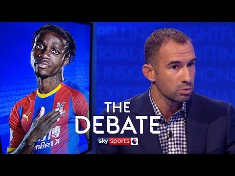 How long will Wilfried Zaha stay at Crystal Palace? | The Debate | Higginbotham and Bellamy