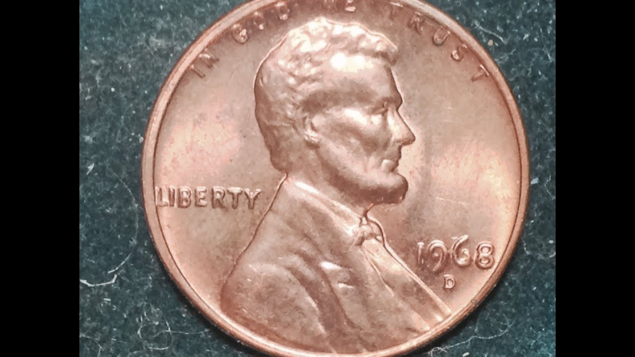1968 D Lincoln Penny Mintage 29 Billion Value Up To 12